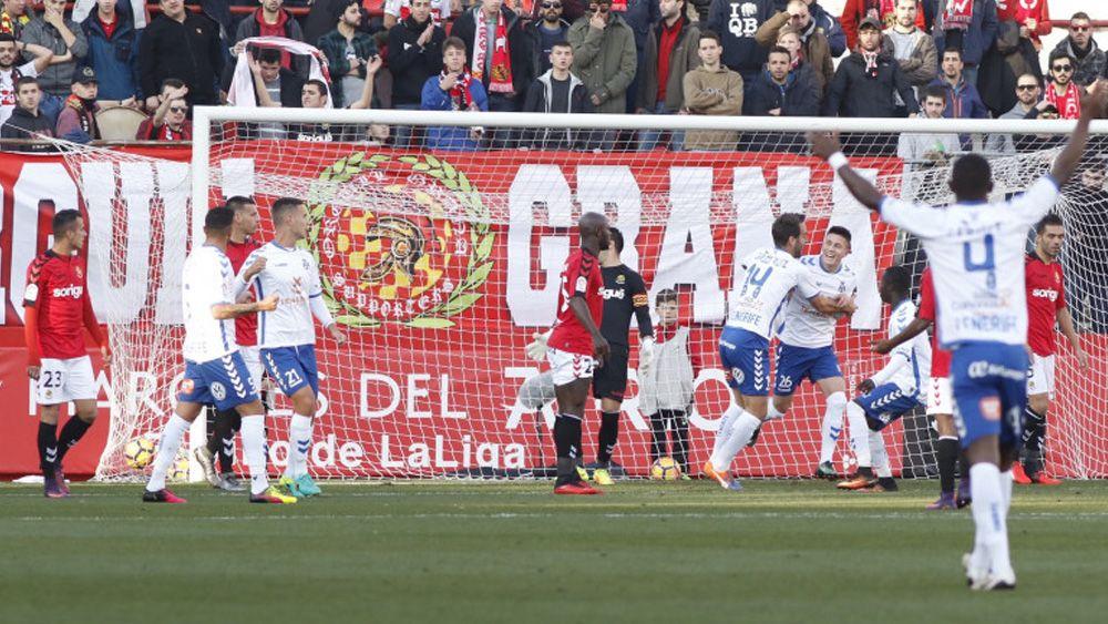 El CD Tenerife desaprovecha la oportunidad de entrar en puestos de playoff