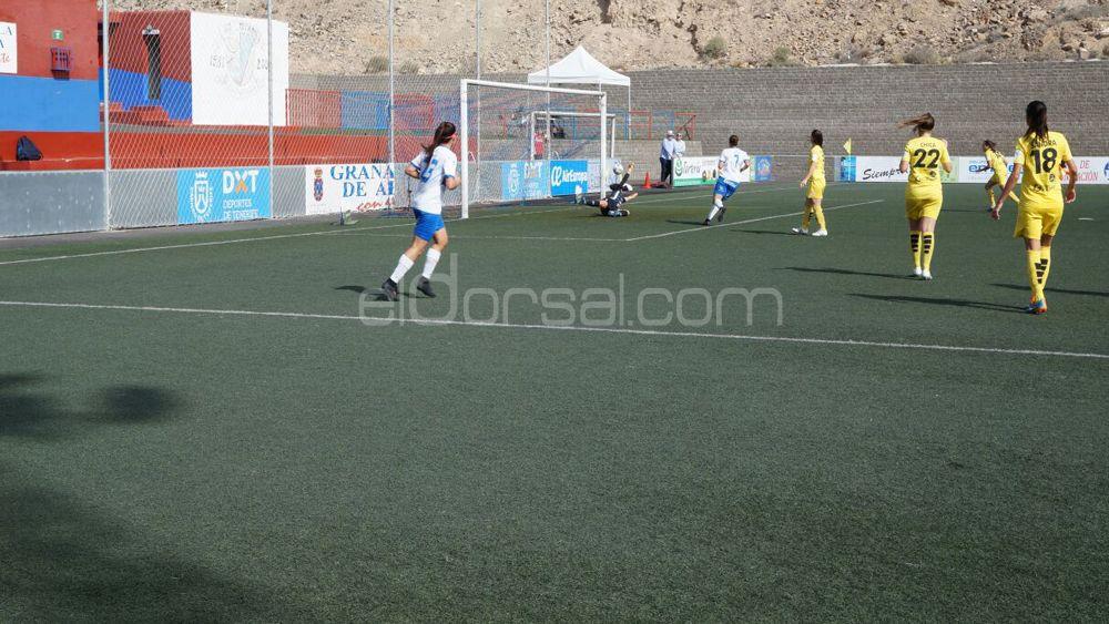 Paloma Lázaro, un gol de muchos kilates que dio la victoria a la UDG Tenerife