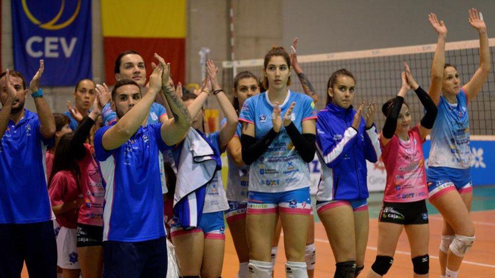 cv haris, challenge cup, voleibol femenino