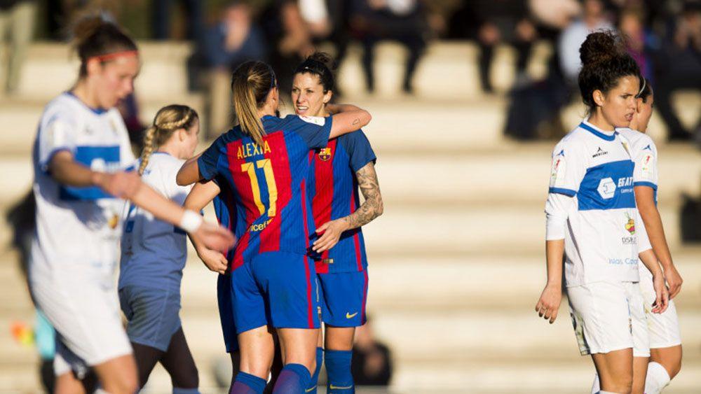 La UDG Tenerife no puede con un FC Barcelona muy superior