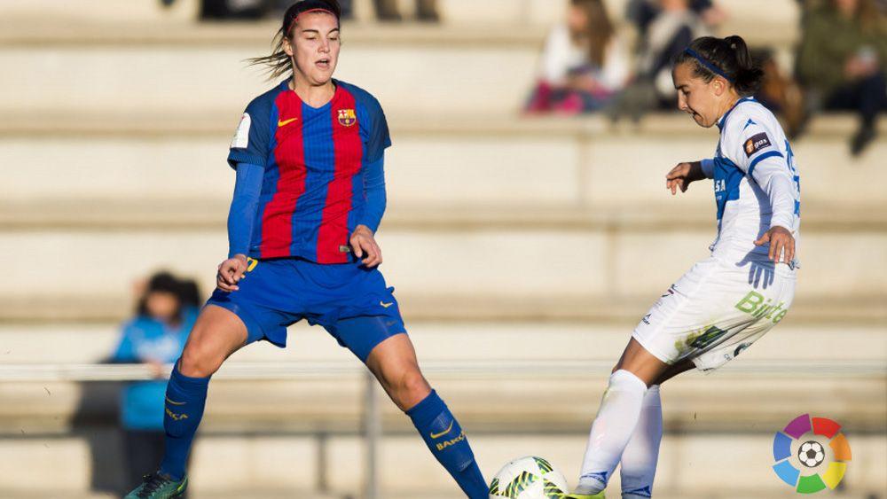 """Virgy: """"Las jugadoras del FC Barcelona son 'top', nos vamos con mal sabor de boca"""""""