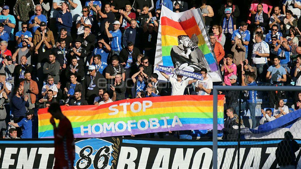 El CD Tenerife, contra la homofobia