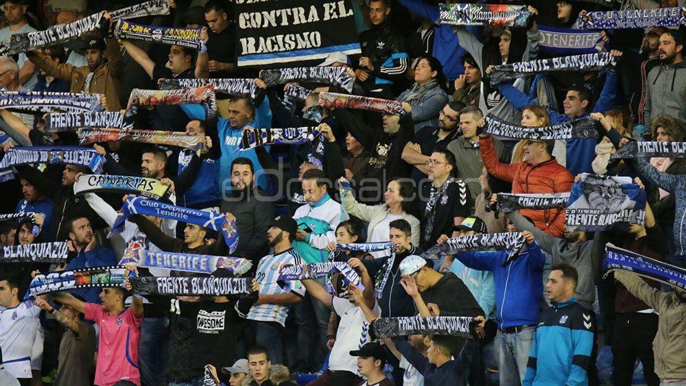 El Heliodoro registró la mejor entrada de la temporada en el CD Tenerife – Córdoba