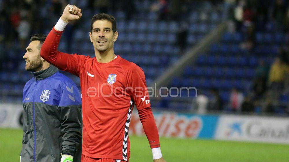 Dani Hernández sigue rompiendo registros como jugador del CD Tenerife