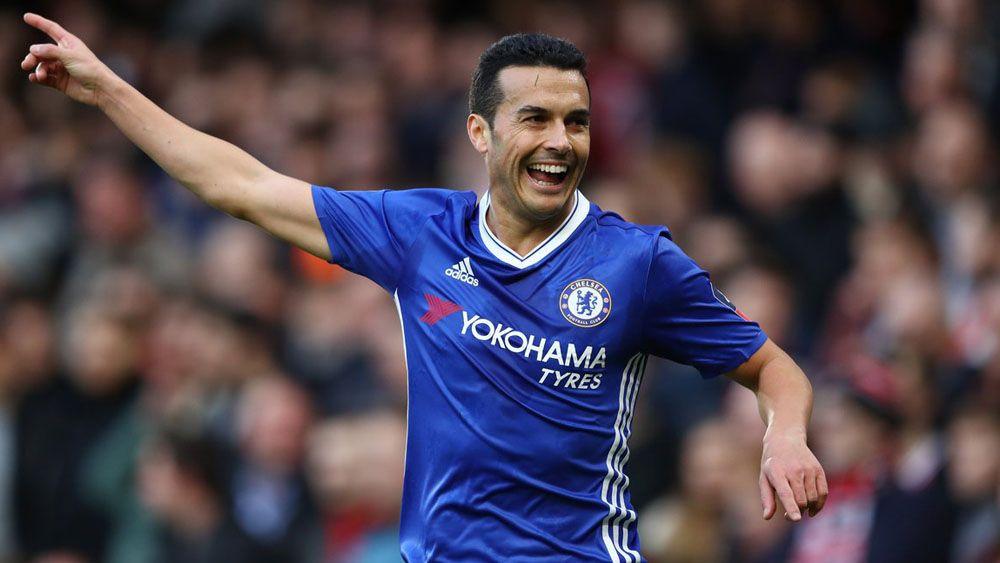 Pedro marca en Copa su octavo tanto de la temporada