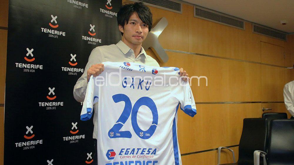 Gaku Shibasaki, renovación en caso de ascenso a Primera División