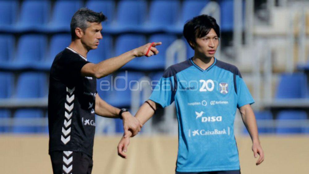 Preocupación en el CD Tenerife por Gaku Shibasaki