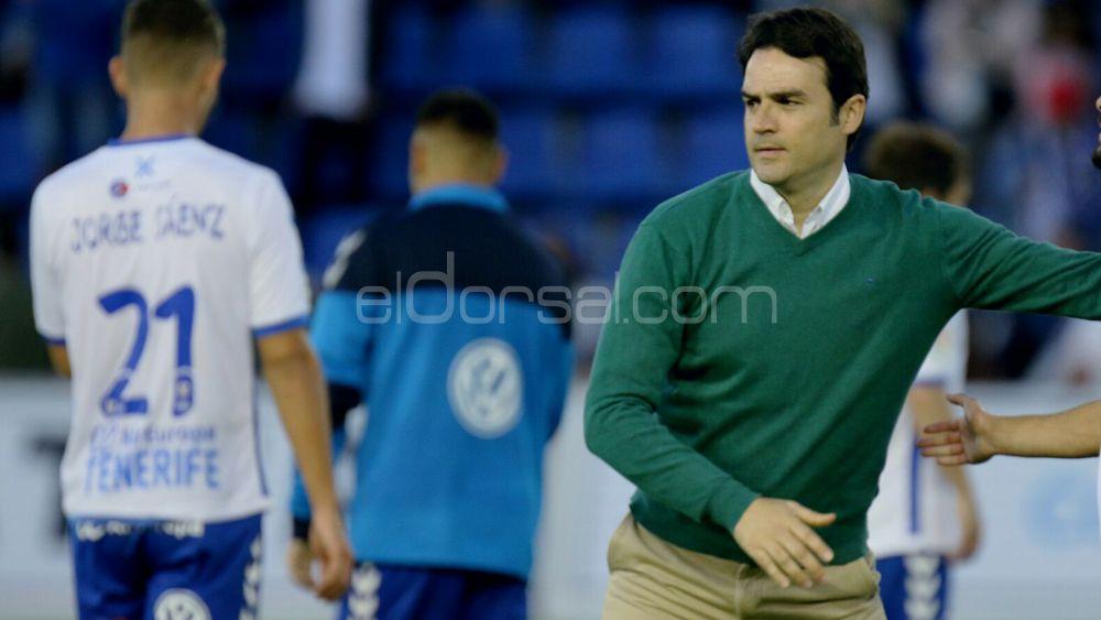 """Toril: """"No hemos estado mal, hemos hecho méritos para sumar ante el CD Tenerife"""""""