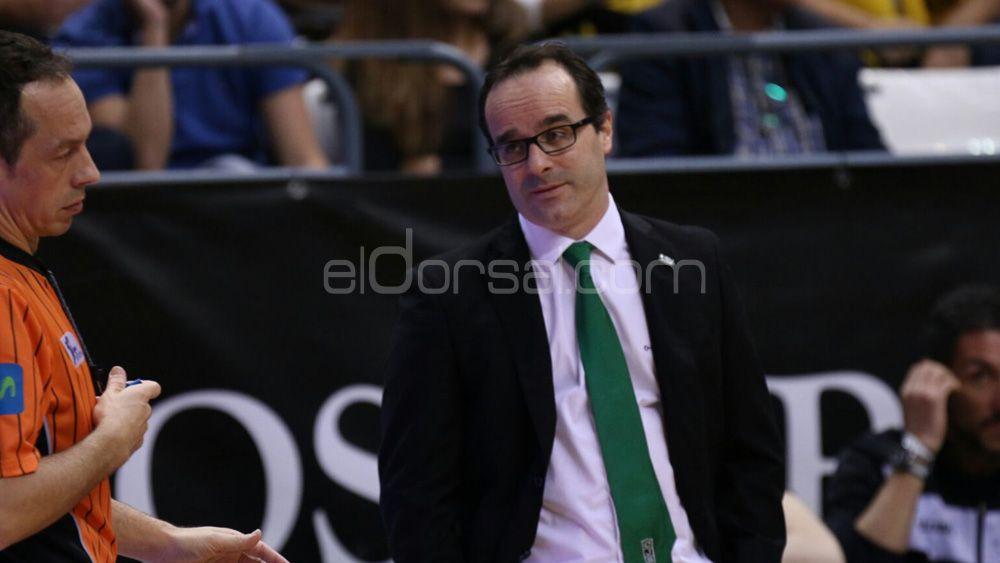 """Ocampos: """"Empezamos bien, pero Iberostar Tenerife empezó a anotar de tres y se nos fue el partido"""""""