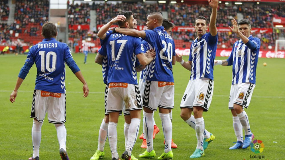 Edgar y Ángel golean con el Alavés y el Zaragoza