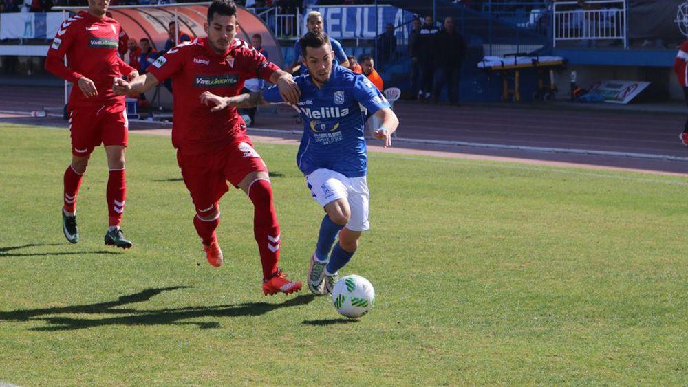 El Melilla de Santi Luque, a dos puntos del playoff de ascenso