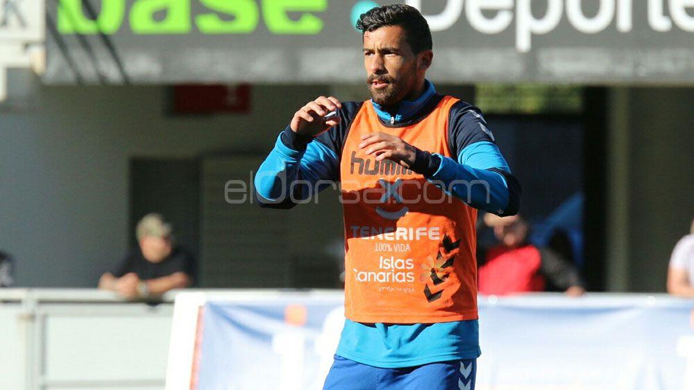 """Alberto: """"Quiero estar en el once del CD Tenerife"""""""