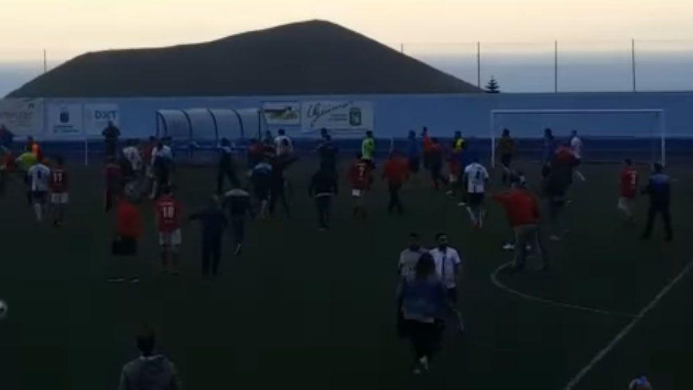 El árbitro del Unión Güímar – UD Icodense confirma lo ocurrido