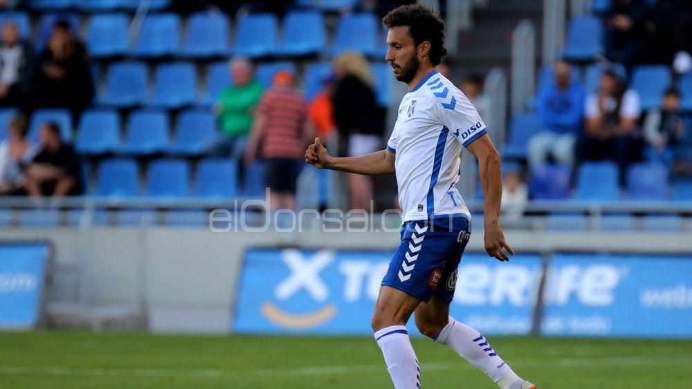 Germán cumple medio centenar de partidos como jugador del CD Tenerife
