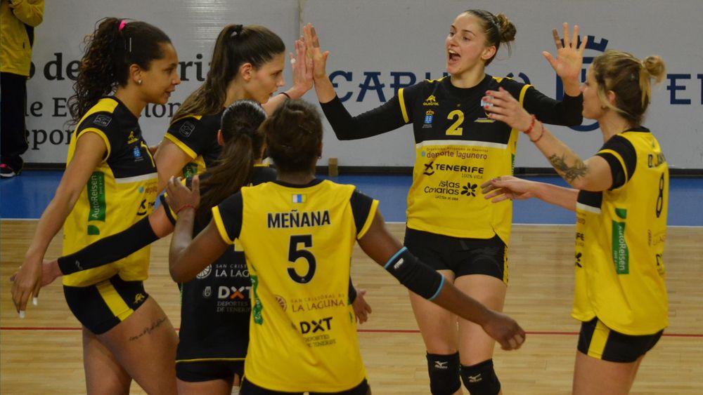 El Aguere Tenerife logra la victoria en un encuentro muy igualado