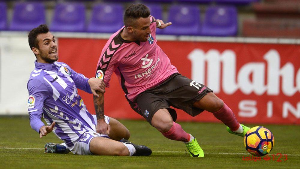 El 'uno por uno' del CD Tenerife contra el Real Valladolid