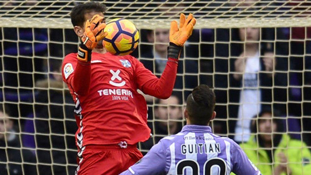 Dani Hernández salvó al CD Tenerife en el último minuto