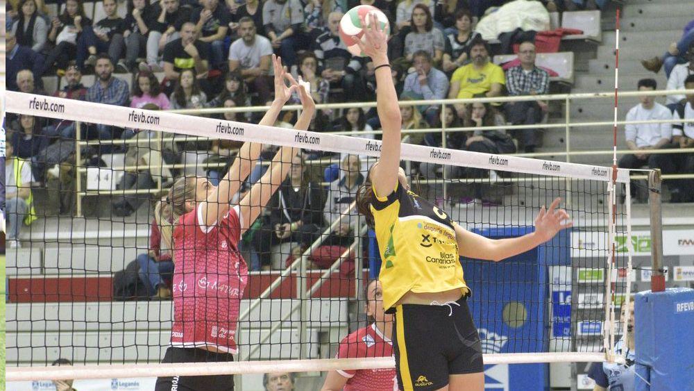 El Aguere Tenerife cae en semifinales de la Copa de la Reina ante el CV Logroño