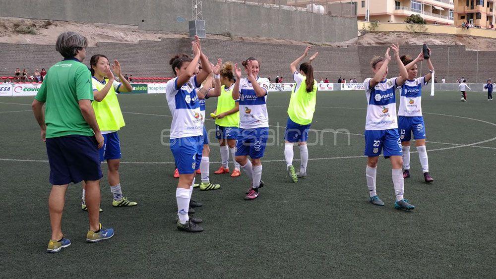 La UDG Tenerife encara la recta final de liga con el pase a la Copa de la Reina en el bolsillo