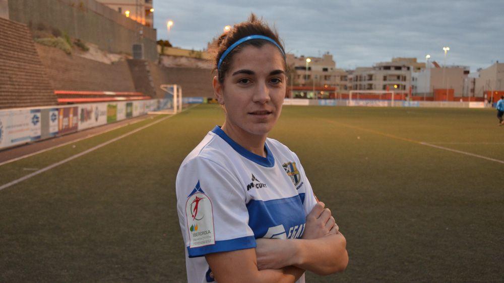 """María Martí, """"con mucha confianza y acoplada al estilo de juego de la UDG Tenerife"""""""