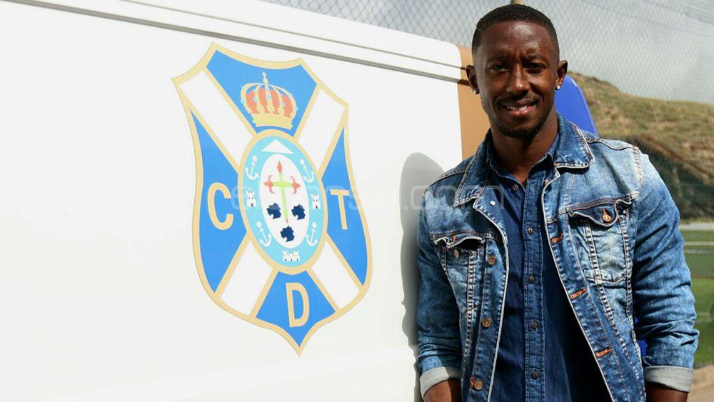 Samuel Camille seguirá en el CD Tenerife hasta junio de 2019, como mínimo