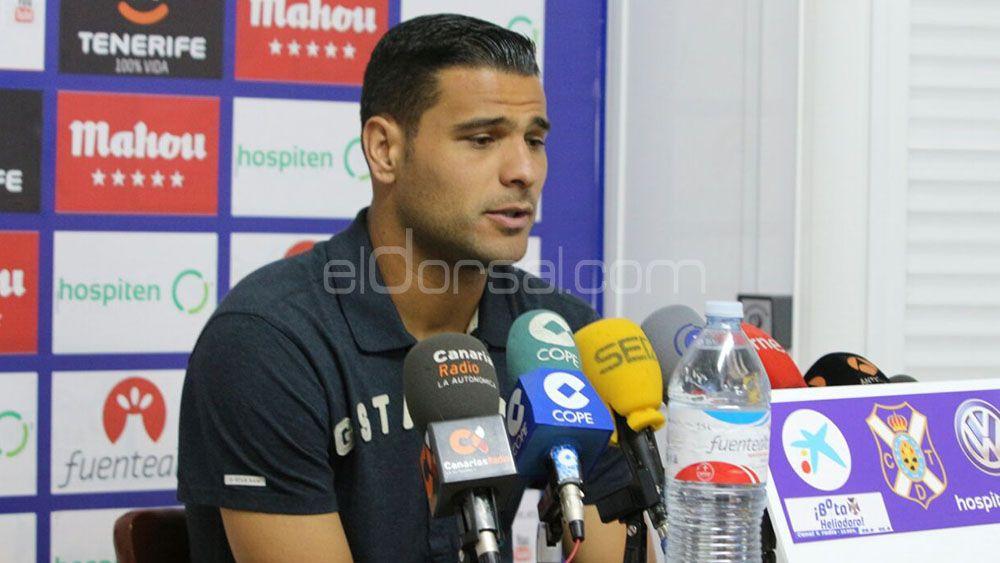 """Aridane: """"La camiseta que guardo con más cariño es la del ascenso con el CD Tenerife"""""""