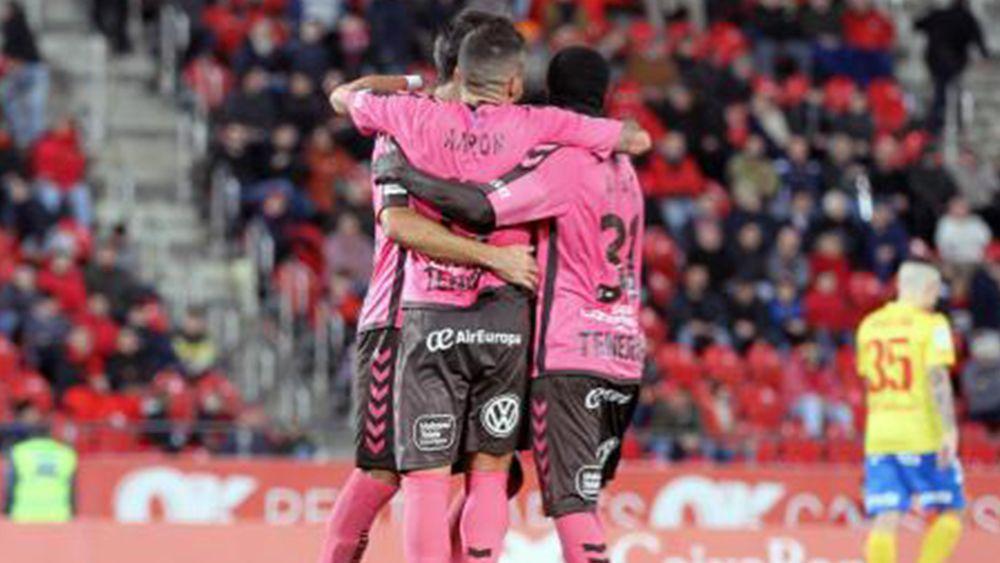 Celebración de gol en Mallorca