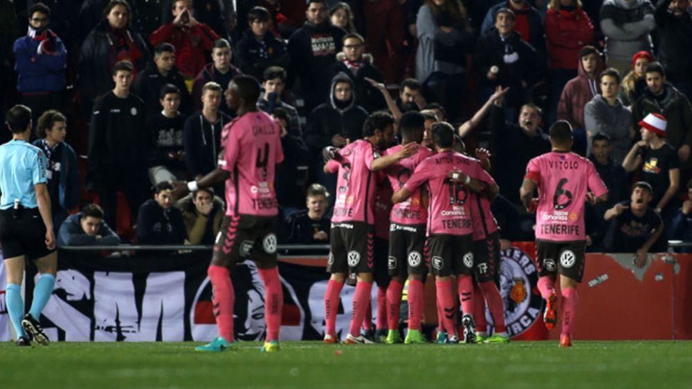 Los cuatro goles de una fantástica remontada del CD Tenerife