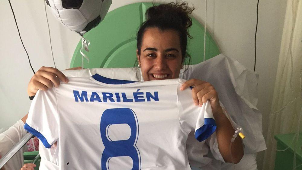 """Marilén, """"ilusionada por recuperarme lo antes posible"""""""
