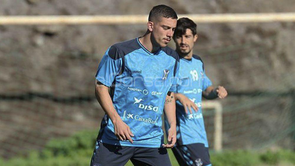 Óscar González, convocado para el CD Tenerife – CD Mirandés