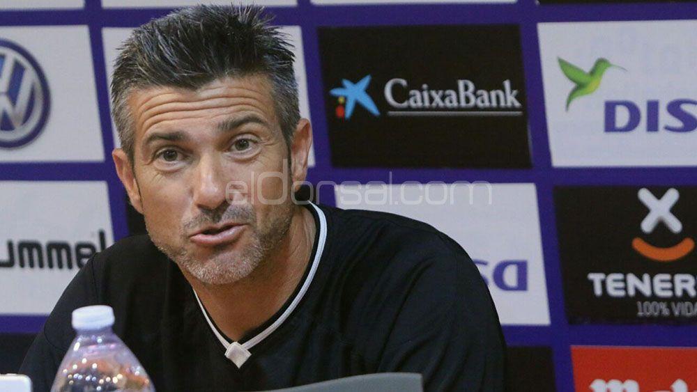 """Martí: """"Los jugadores están con unas ganas tremendas de que empiece el partido"""""""