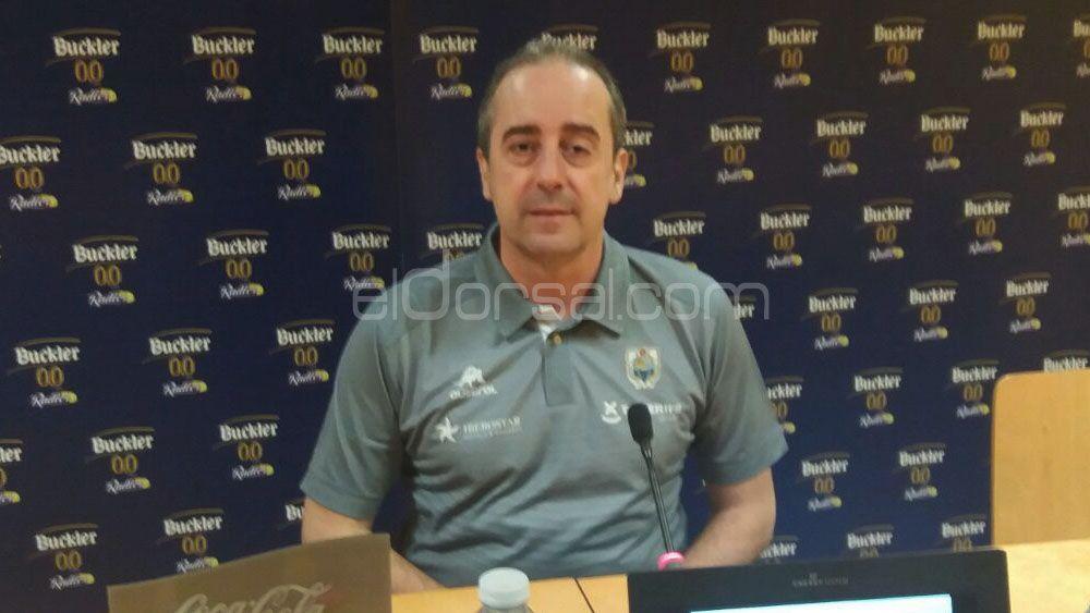 """Vidorreta: """"Murcia ha jugado mejor en la segunda parte y se han impuesto porque han impuesto su juego"""""""