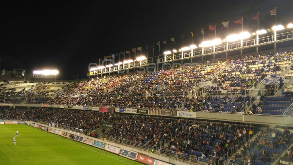 El CD Tenerife – CD Mirandés, la mejor entrada de la temporada