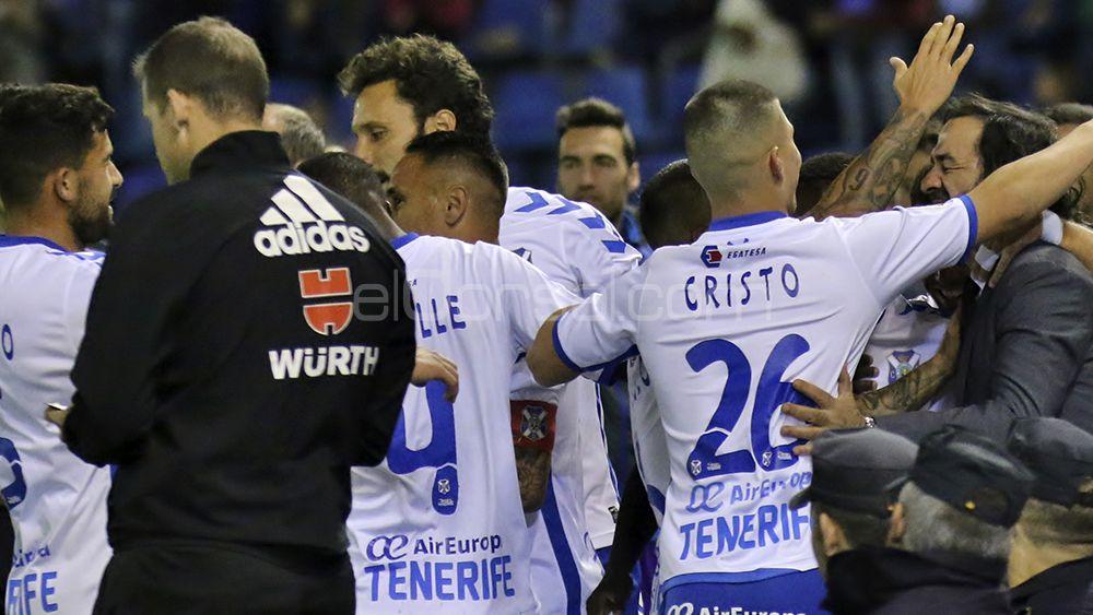 El empate del CD Tenerife ante el Mirandés, en imágenes