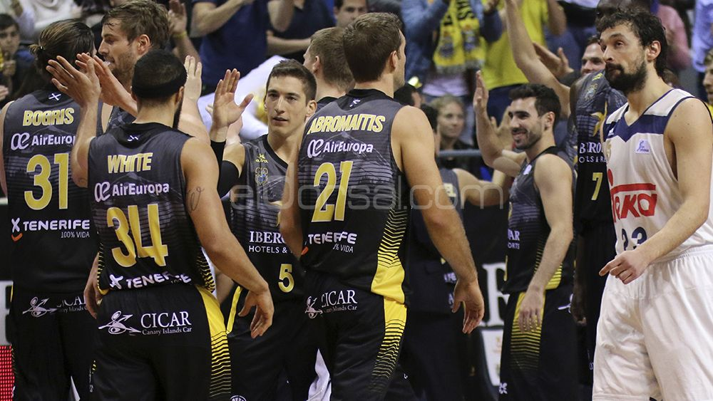 El Iberostar Tenerife, líder de la ACB vive un momento dulce