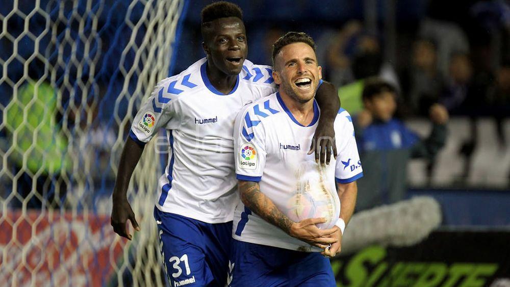 Amath y Aarón, el peso del gol en el CD Tenerife