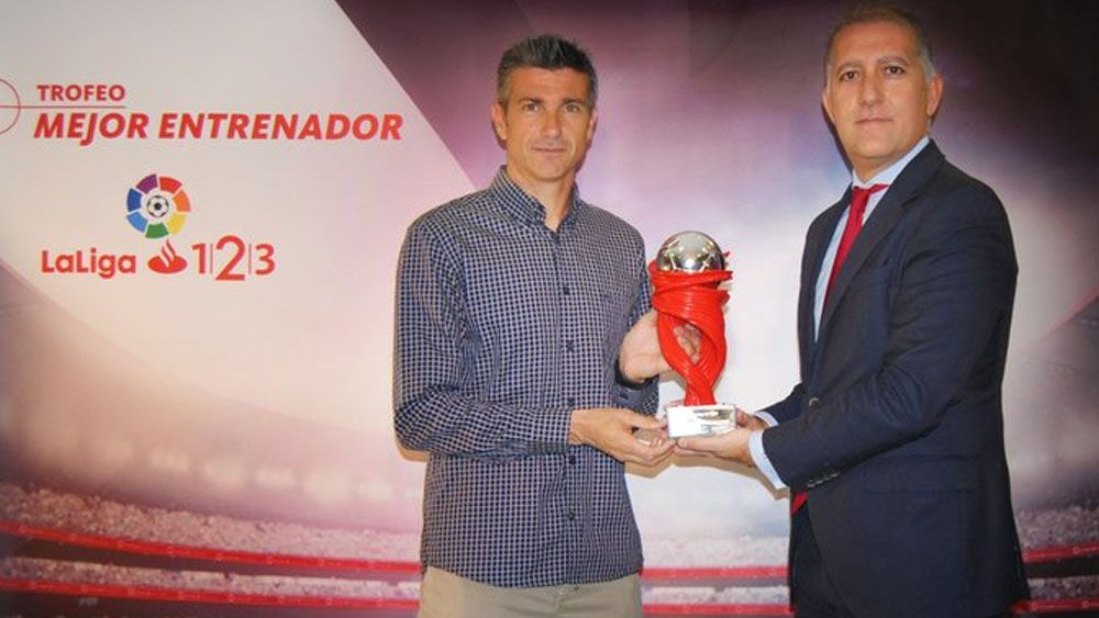 Martí, mejor entrenador de la Liga 1|2|3 en febrero
