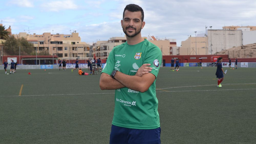 """José Herrera: """"El nivel de implicación y regularidad en la UDG Tenerife es muy alto"""""""