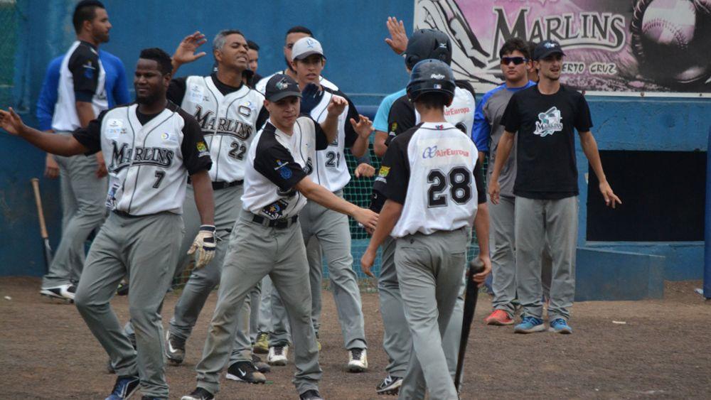 Los Marlins debutan en pretemporada disputando la Tenerife Spring Baseball Cup