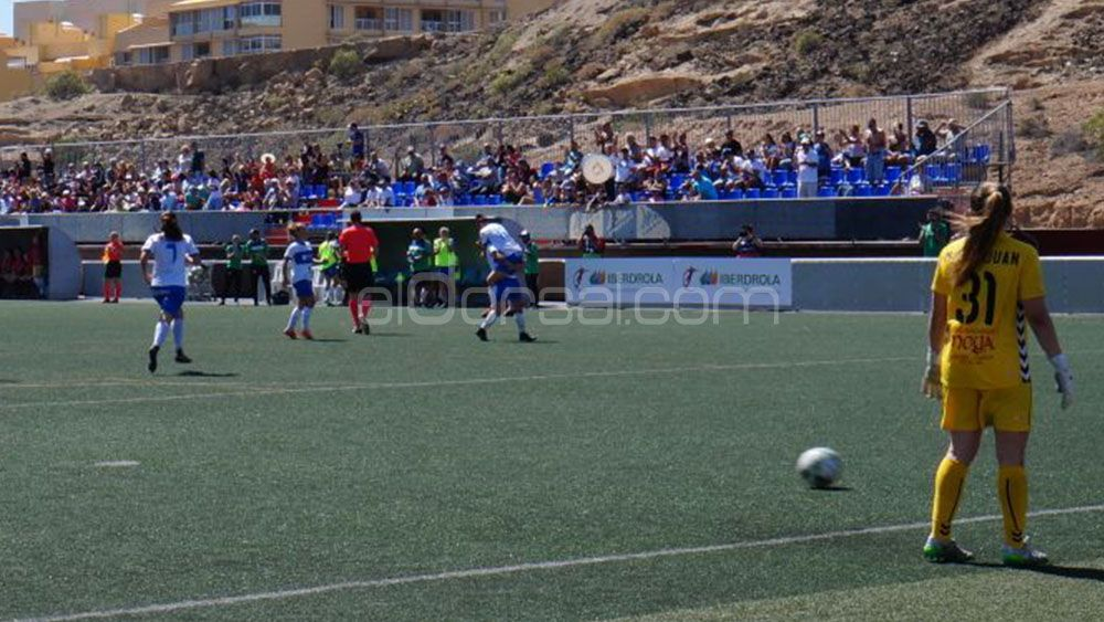 La UDG Tenerife rebosa entusiasmo tras la mayor goleada de su historia en la élite