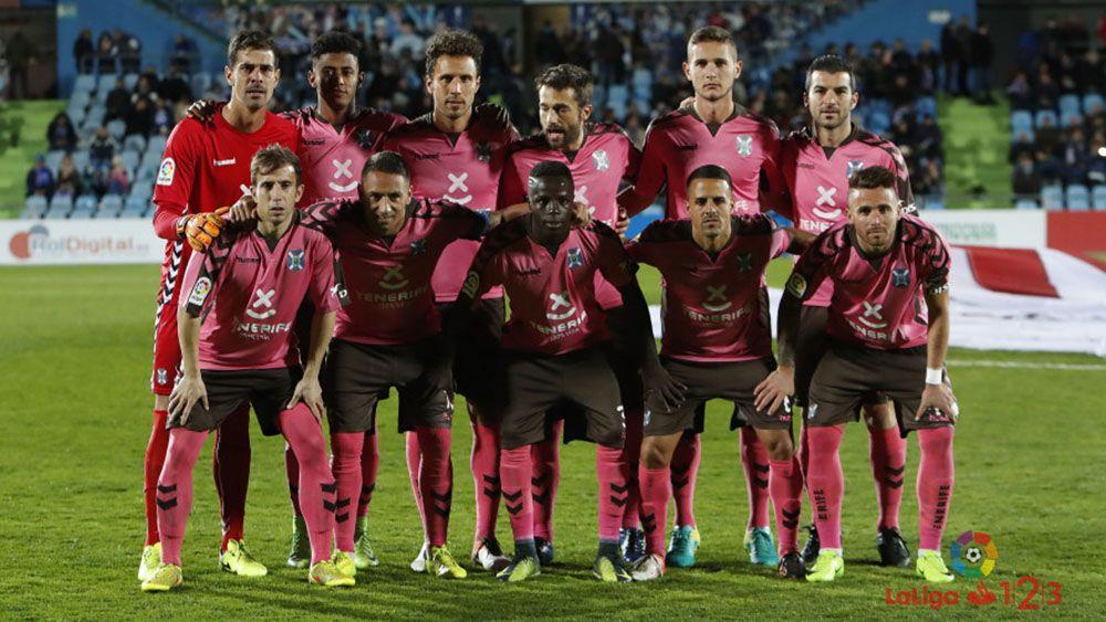 El 'uno por uno' del CD Tenerife contra el Getafe CF