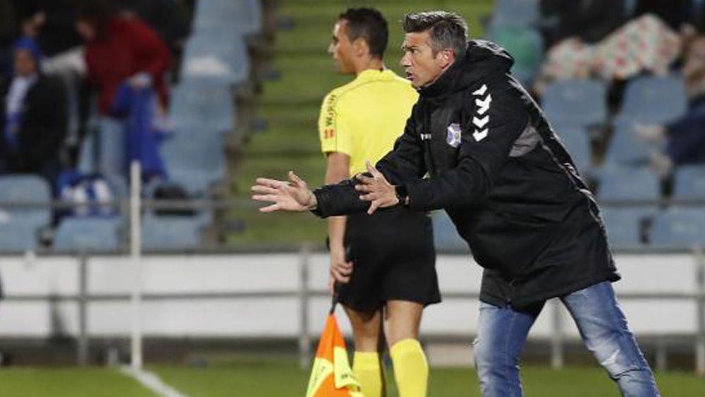José Luis Martí 'se muerde la lengua' tras el Getafe – CD Tenerife