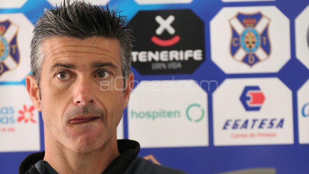 """Martí: """"No he notado ansiedad en el CD Tenerife por la ausencia de Amath"""""""