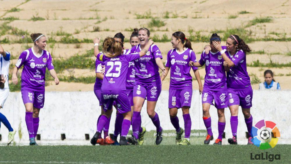 Meritorio punto de la UDG Tenerife ante el Sporting Huelva