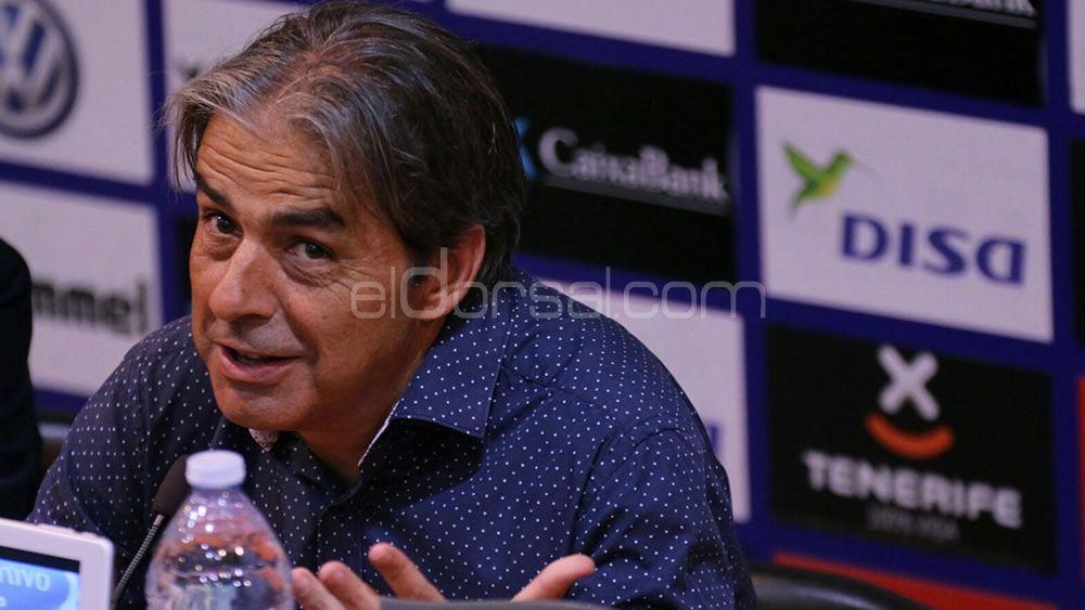 """Natxo González: """"Buscaremos el punto de inflexión ante el CD Tenerife"""""""