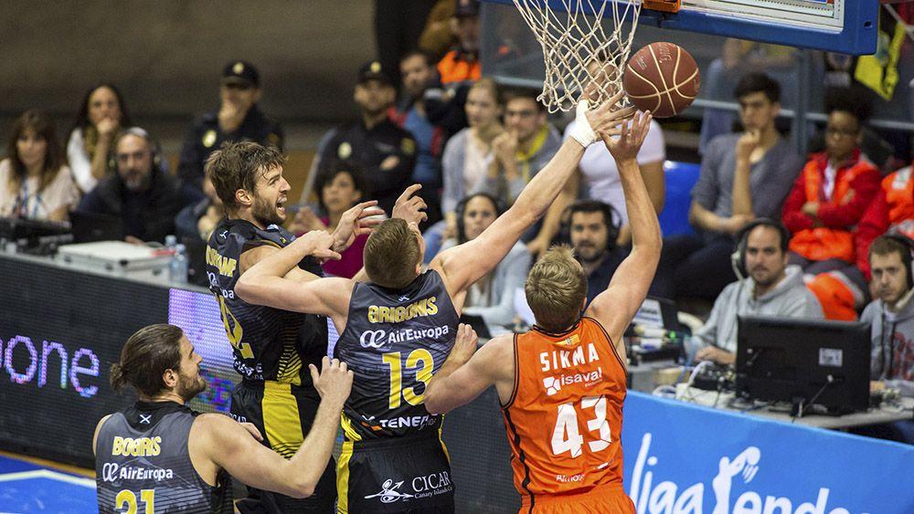 Al Iberostar Tenerife se le atraganta el Valencia Basket