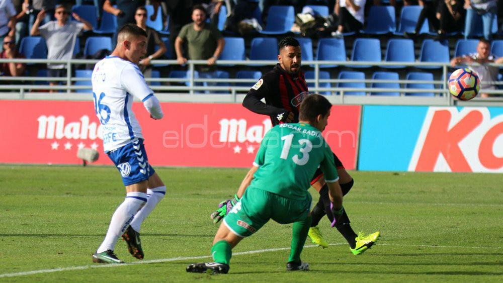 Las ocasiones falladas por el CD Tenerife ante el Reus