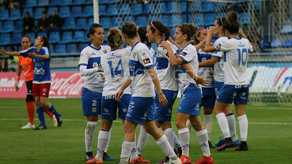 La UDG Tenerife se lleva el derbi y el fútbol femenino triunfa