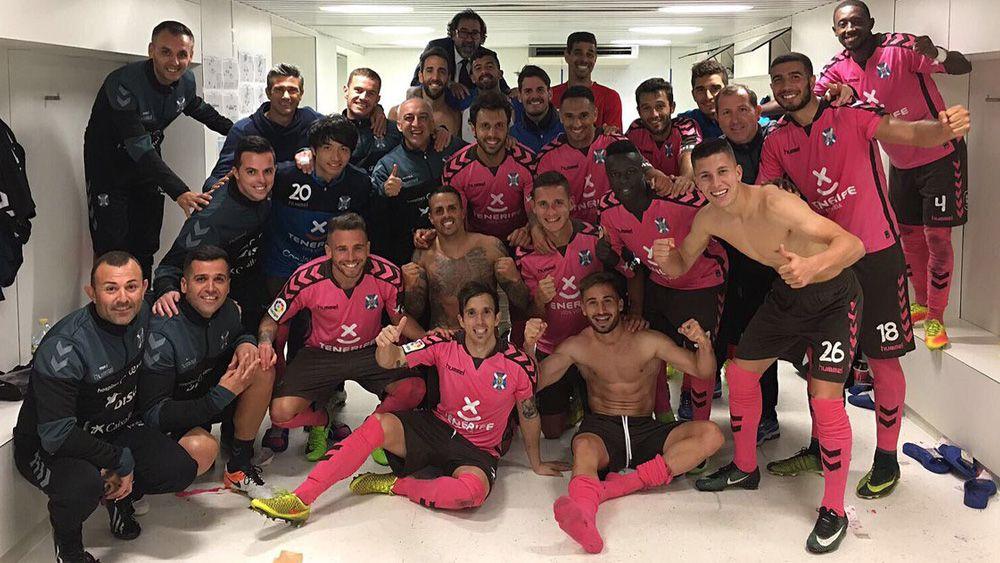 El CD Tenerife logra un triunfo de prestigio para reforzar plaza de playoff