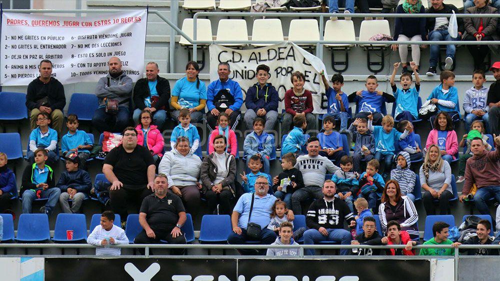 El UDG Tenerife – UD Tacuense, con más afluencia de público que muchos partidos de Segunda División